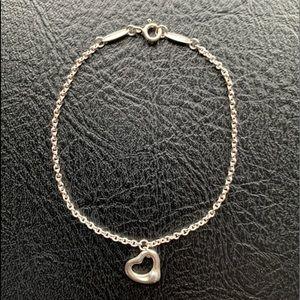 Tiffany & Co Elsa Peretti Open Heart Bracelet